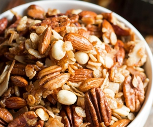 food, healthy, and nuts image