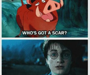 disney, funny, and harry potter image