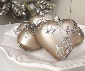 christmas, heart, and lovely image