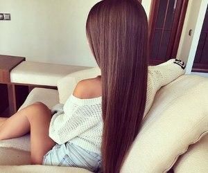 <3, hair, and long hair image