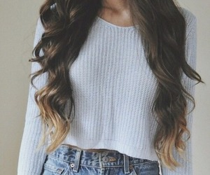 blond, brown, and outfit image