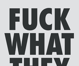 typography and fuck what they think image