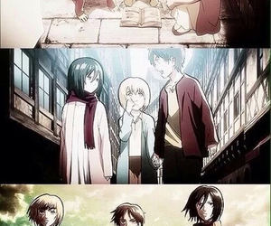 shingeki no kyojin, anime, and mikasa ackerman image