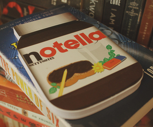 books and nutella image