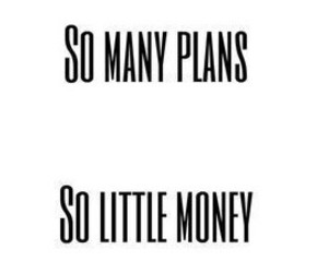 money and plans image