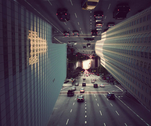 city, photography, and cars image