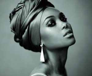 black, model, and beauty image
