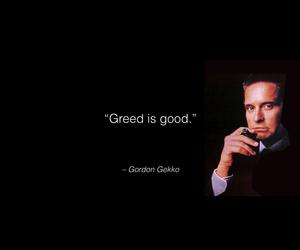 economy, greed, and gekko image
