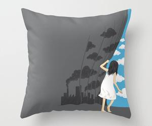 art illustration, bed, and decor image