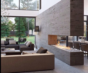 dream house, fireplace, and inspiration image