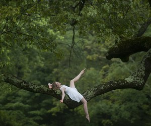 dance, nature, and dancer image