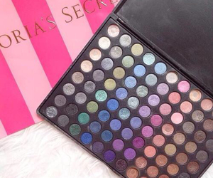 eye shadow and Victoria's Secret image