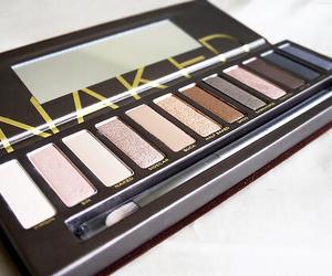 makeup, naked, and eyeshadow image