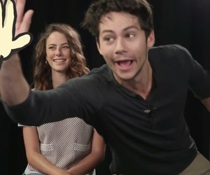 dylan o'brien, interview, and the maze runner image