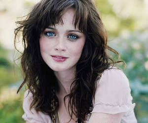 alexis bledel, blue eyes, and pretty image