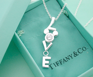 love, necklace, and tiffany image