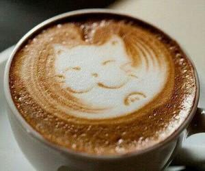 adorable, cofee, and cafe image