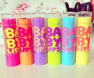baby lips, lips, and pink image