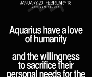 aquarius, truth, and zodiac image