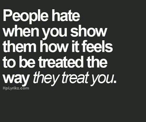 quote, people, and treat image