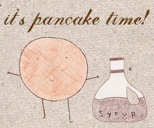 pancake and cute image