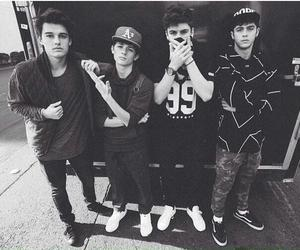 black and white, kenny holland, and cute boys image
