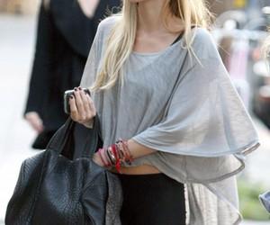bag, blonde, and street image