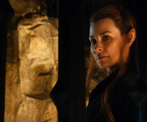 the hobbit and tauriel image