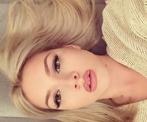 beauty, lips, and long hair image