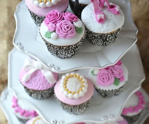 sweet, cute, and cupcake image