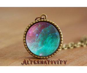 galaxy necklace image