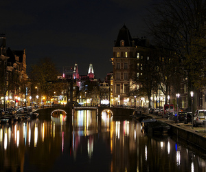 amsterdam, nikon d5100, and buildings image