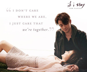 films, if i stay, and love image