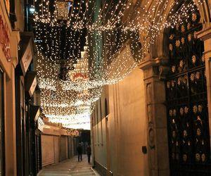 christmas, festive, and lights image