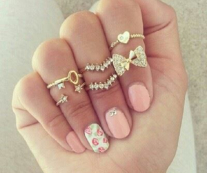 accessory, pink, and art image