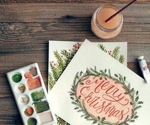christmas, merry christmas, and art image