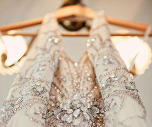 fashion, dress, and glitter image