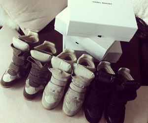 shoes, fashion, and Isabel marant image