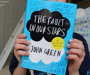 book, john green, and tfios image