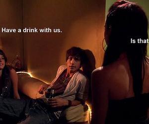 drink, effy stonem, and Freddie Mclair image