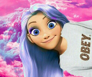 obey, disney, and hair image