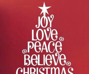 believe, christmas, and joy image