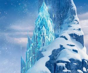 frozen, castle, and disney image