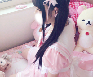 asian, cute stuff, and pink image