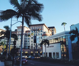 city, california, and Louis Vuitton image