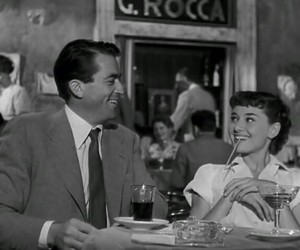 audrey hepburn and roman holiday image