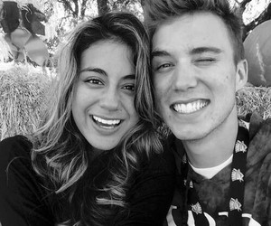 ally brooke, fifth harmony, and troy & ally image
