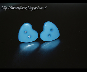baby blue, blue, and button image