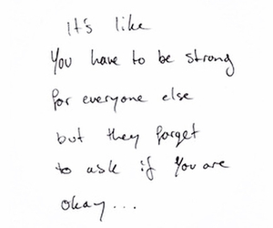 quotes, text, and strong image