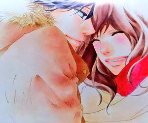 manga girl, manga boy, and ao haru ride image